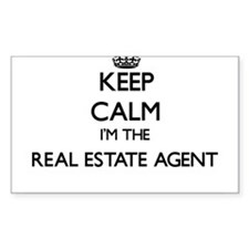 Keep calm I'm the Real Estate Agent Decal