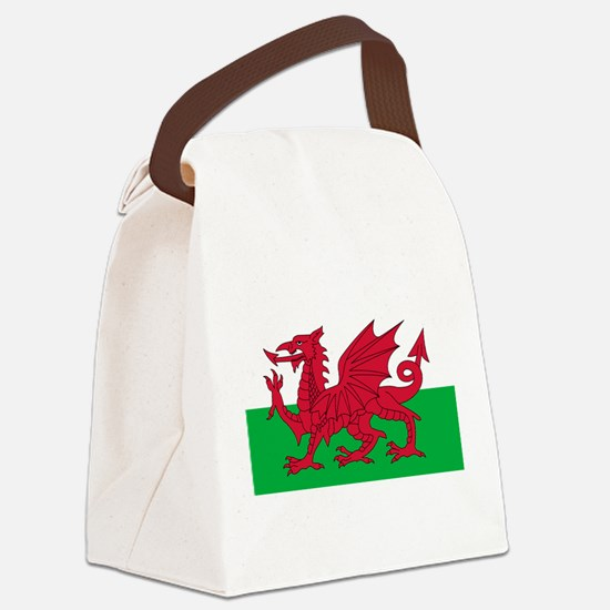 wales-flag-4000w.png Canvas Lunch Bag