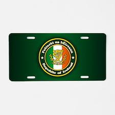 Irish Medallion 2 Aluminum License Plate