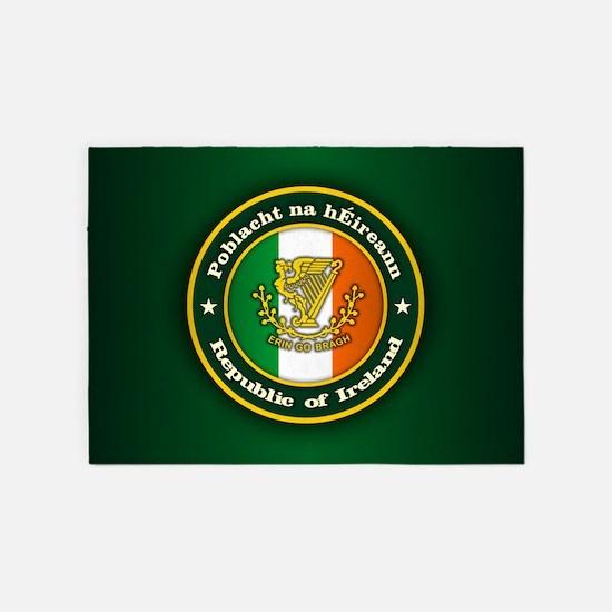 Irish Medallion 2 5'x7'Area Rug