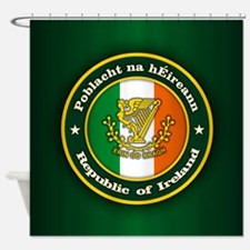 Irish Medallion 2 Shower Curtain