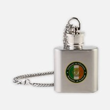 Irish Medallion 2 Flask Necklace