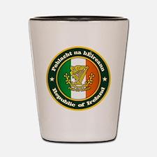 Irish Medallion 2 Shot Glass