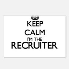 Keep calm I'm the Recruit Postcards (Package of 8)