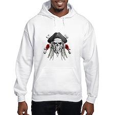 Caribbean Pirate Skulls Hoodie