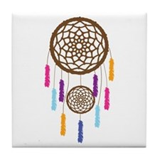 Dream Catcher Tile Coaster