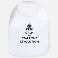 Keep Calm And Start The Revolution Bib