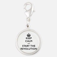 Keep Calm And Start The Revolution Charms