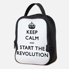 Keep Calm And Start The Revolution Neoprene Lunch