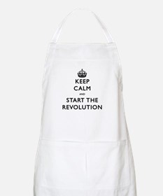 Keep Calm And Start The Revolution Apron
