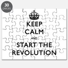 Keep Calm And Start The Revolution Puzzle