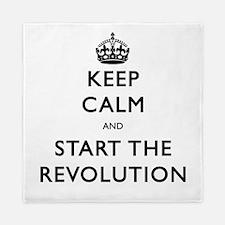 Keep Calm And Start The Revolution Queen Duvet