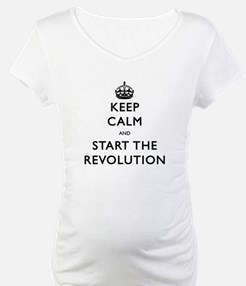 Keep Calm And Start The Revolution Shirt