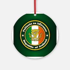 Irish Medallion 2 Ornament (Round)