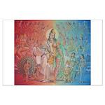 Hindu Deities Poster Large