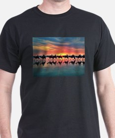 Camels at Sunset T-Shirt