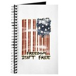 Freedom isn't free Distressed Journal