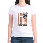 Freedom isn't free Distressed Jr. Ringer T-Shirt