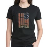 Freedom isn't free Distressed Women's Dark T-Shirt