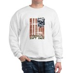 Freedom isn't free Distressed Sweatshirt