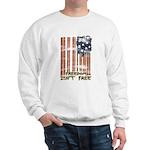 Freedom isn't free Distressed Sweatshirt