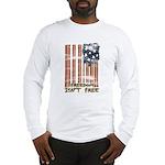 Freedom isn't free Distressed Long Sleeve T-Shirt