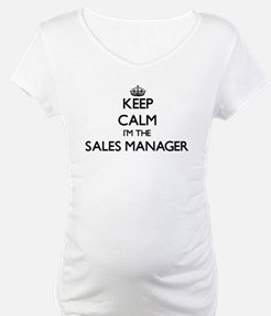 Keep calm I'm the Sales Manager Shirt