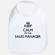 Keep calm I'm the Sales Manager Bib