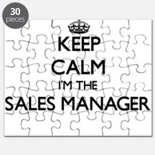 Keep calm I'm the Sales Manager Puzzle