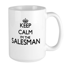 Keep calm I'm the Salesman Mugs