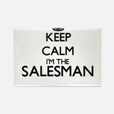 Keep calm I'm the Salesman Magnets