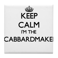 Keep calm I'm the Scabbardmaker Tile Coaster