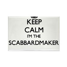 Keep calm I'm the Scabbardmaker Magnets