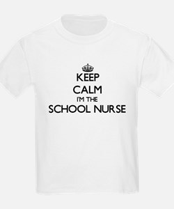 Keep calm I'm the School Nurse T-Shirt