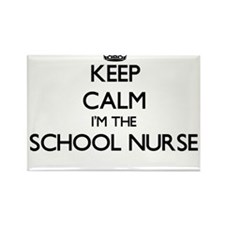 Keep calm I'm the School Nurse Magnets