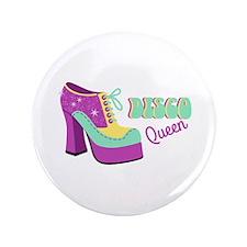 "Disco Queen 3.5"" Button (100 pack)"