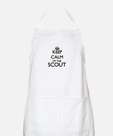 Keep calm I'm the Scout Apron