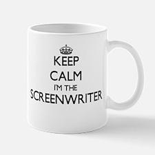 Keep calm I'm the Screenwriter Mugs