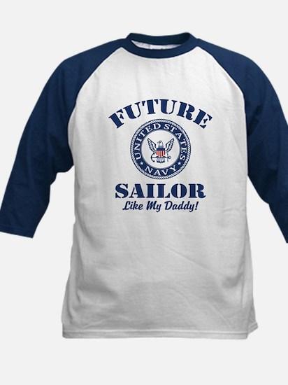 Future Navy Sailor Like My Daddy Tee