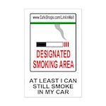 Cigarette Smoking Ban<BR>Tobacco Mini Poster