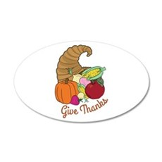 Give Thanks Wall Decal
