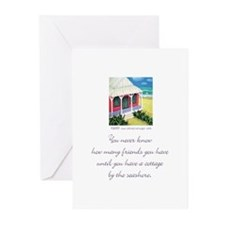 Beach Friends 2 Greeting Cards (Pk of 10)