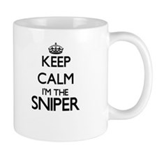 Keep calm I'm the Sniper Mugs