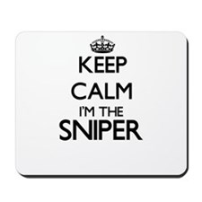 Keep calm I'm the Sniper Mousepad