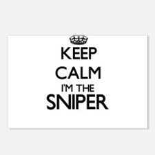 Keep calm I'm the Sniper Postcards (Package of 8)
