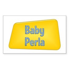 Baby Perla Rectangle Decal