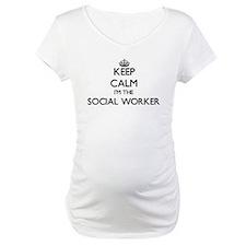Keep calm I'm the Social Worker Shirt