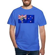 New Zealand Kiwi Flag T-Shirt