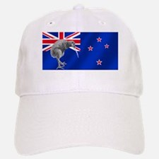 New Zealand Kiwi Flag Baseball Baseball Cap