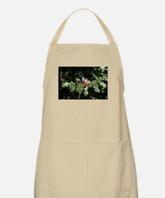 Christmas Holly Berries Apron